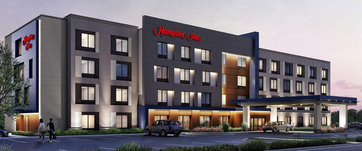 Hampton by Hilton Uniland Development