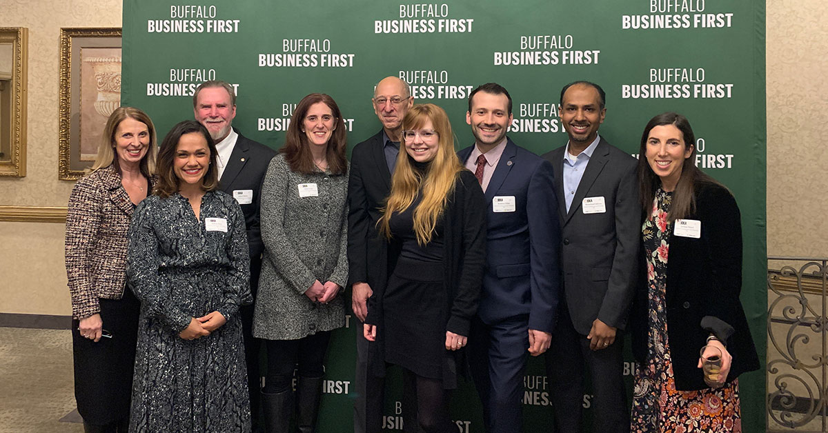 Receiptent of Buffalo Business First's 2020 Inclusion Diversity Equity Awareness (IDEA) Award