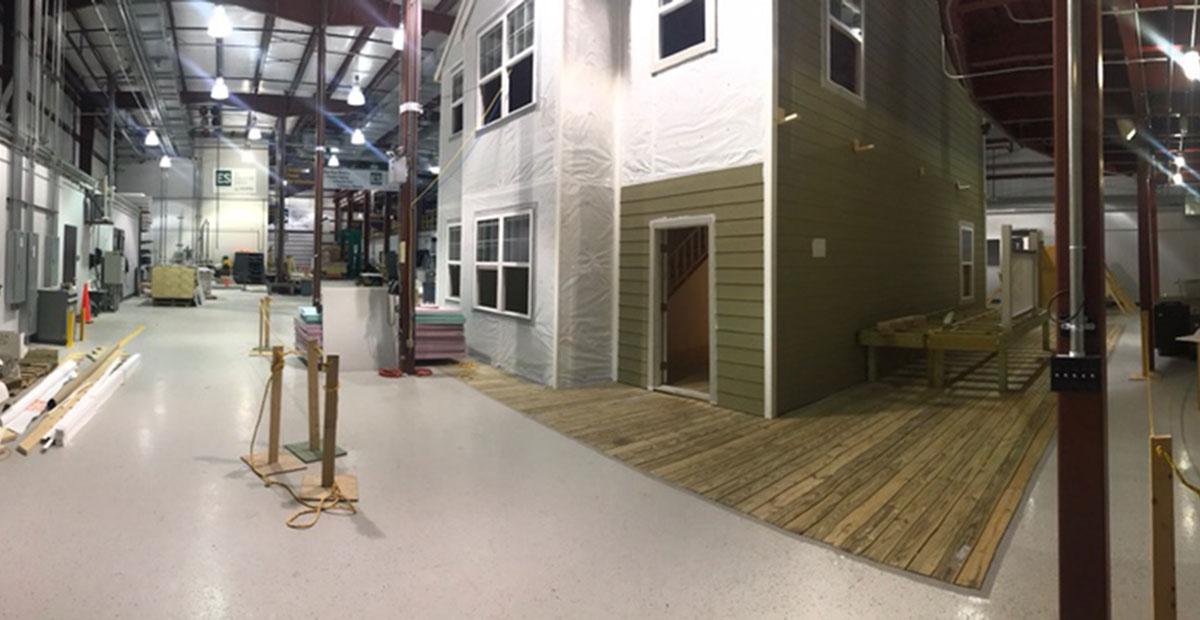 Home Renovation Lab Interior