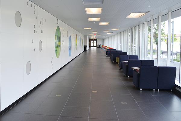 Greiner Hall hallway