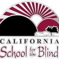 california school for the blind logo