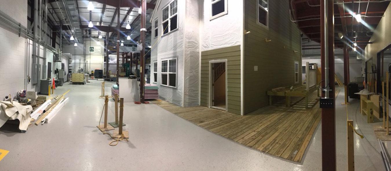 Home Renovation Lab housing mockup